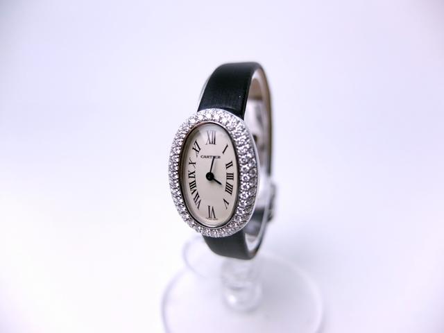 newest 45bea dd96e カルティエ ミニベニュワール WG|広島で宝石、時計の買取・質 ...