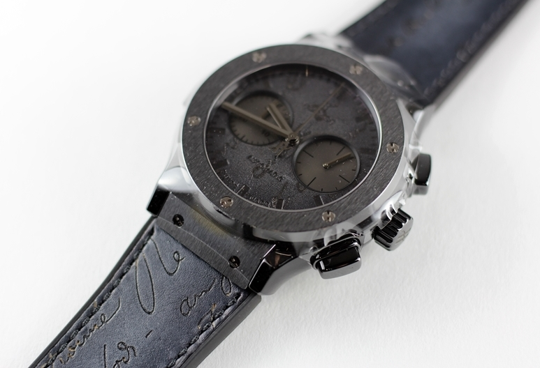 official photos d093c 333b9 ウブロとベルルッティのコラボモデルの入荷|広島で宝石、時計の ...